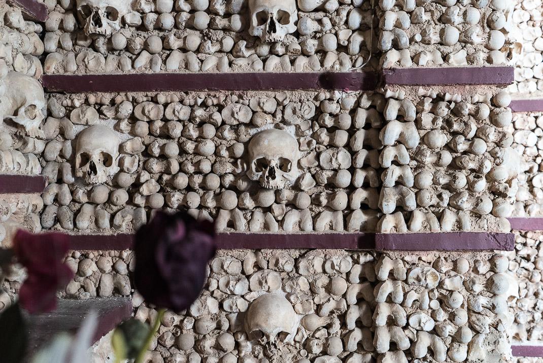 Skulls in Bones Chapel