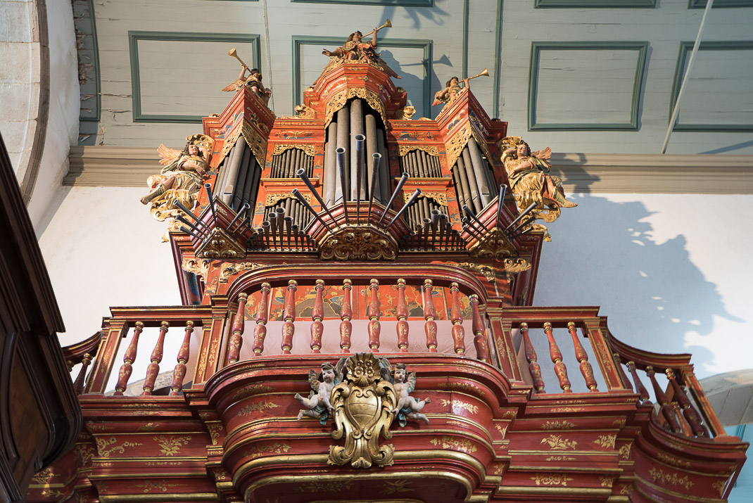 Faro Cathedral pipe organ