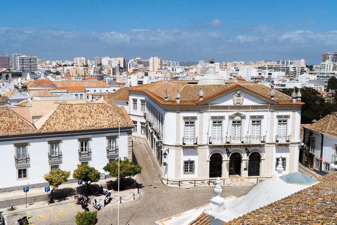 Faro city view