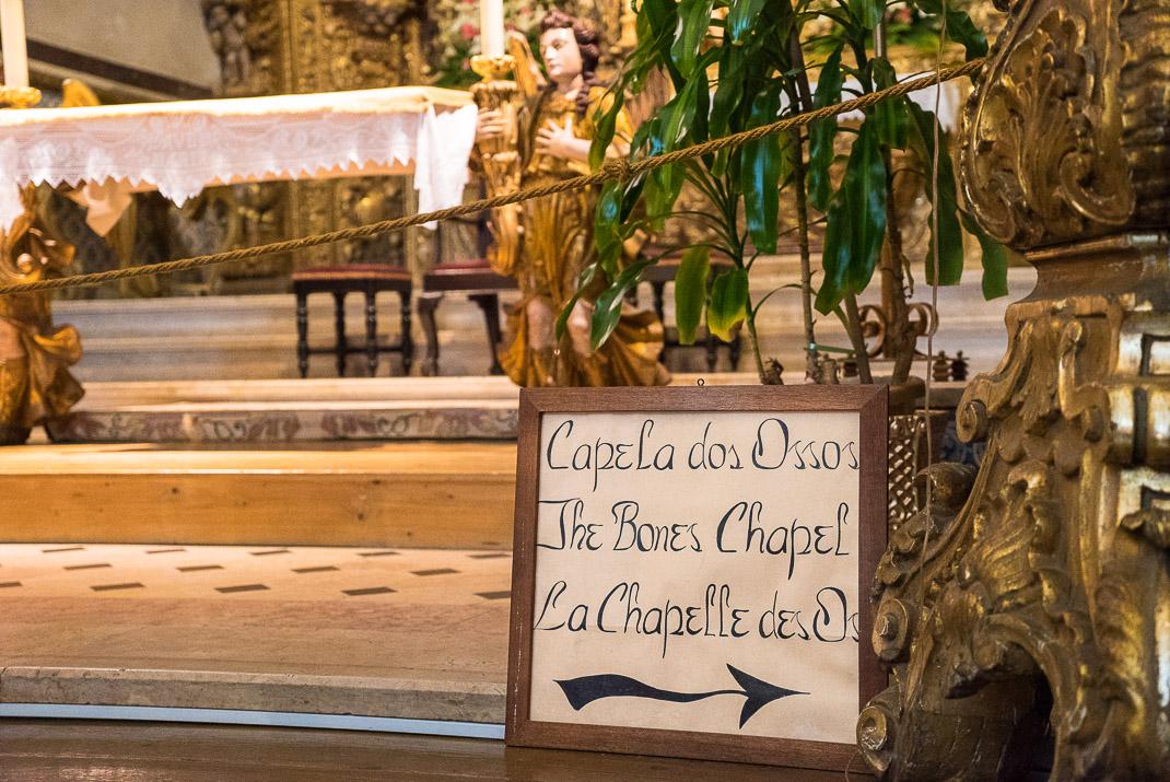 Bones Chapel sign