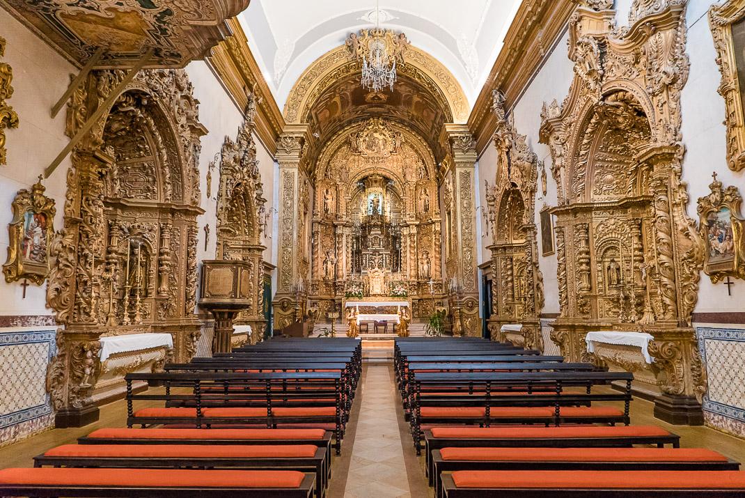 Faro mission gold interior