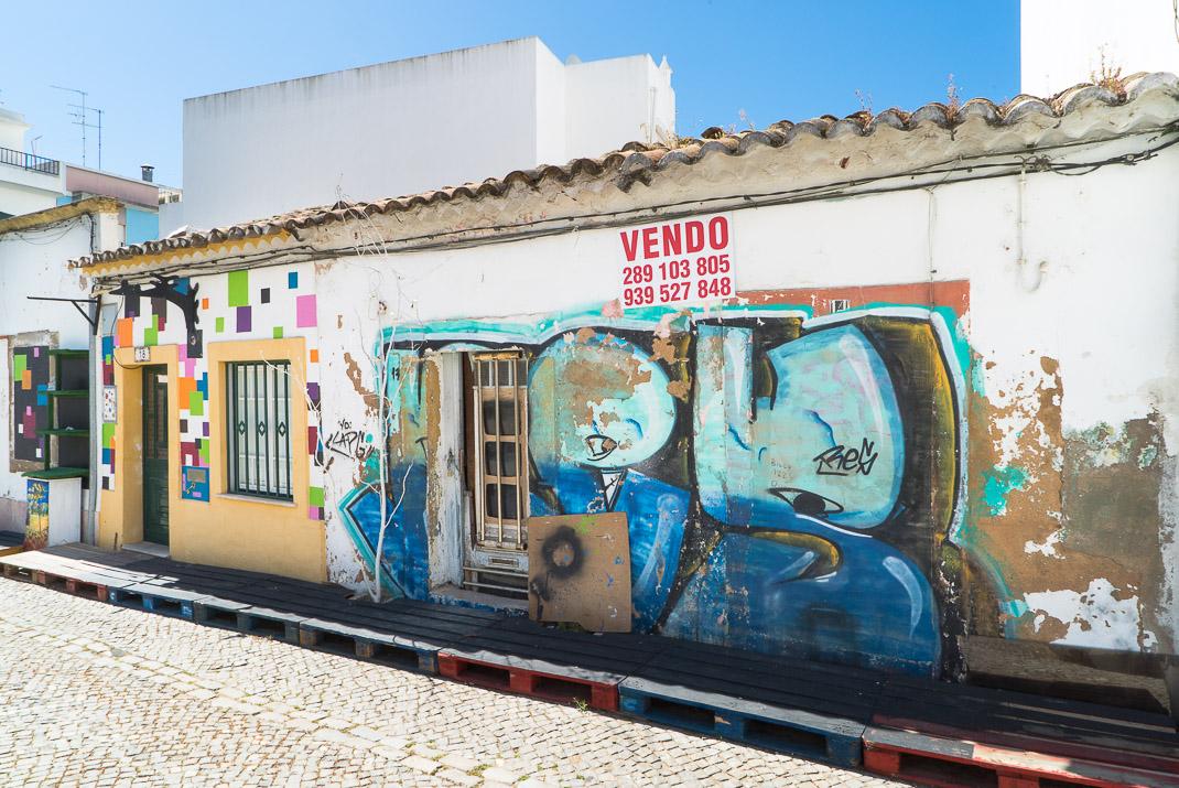 Street art in Faro
