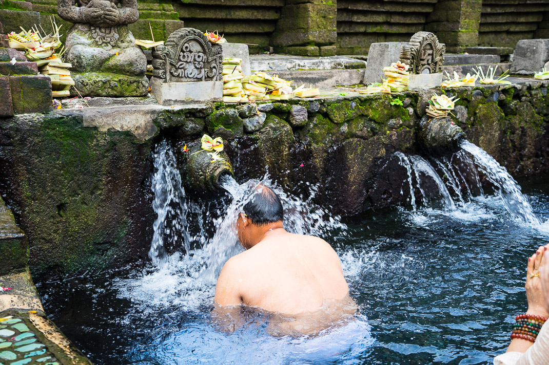 Bali Spring Temple Bathing