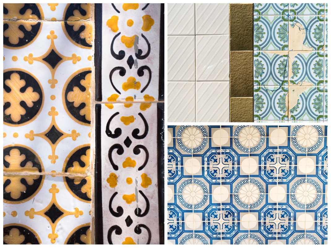 Faro hand painted tiles