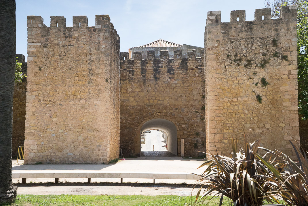Lagos Castle Arch Entrance