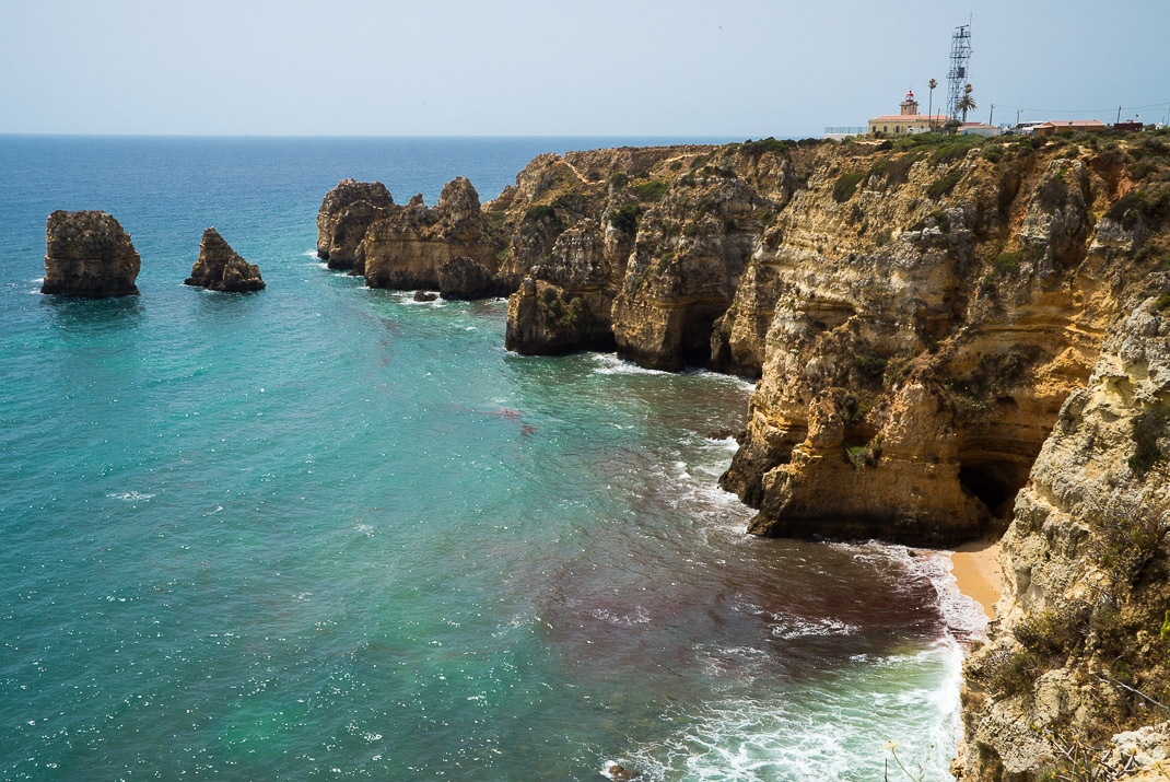 Lagos Cliffs Ocean Lighthouse