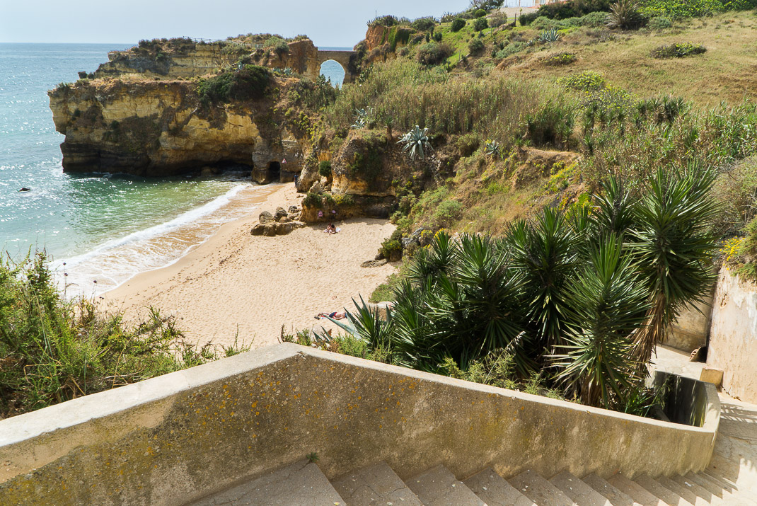Lagos Beaches Praia Batata Stairs