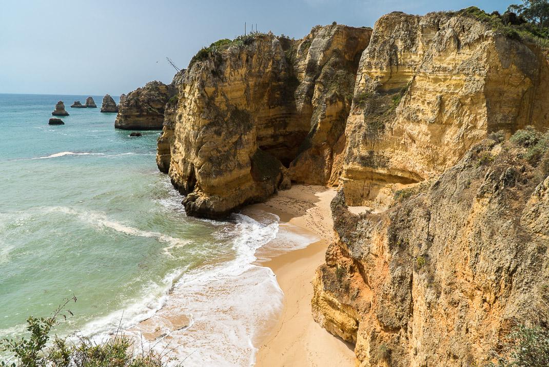 Lagos Beaches Praia DonaAna Closed