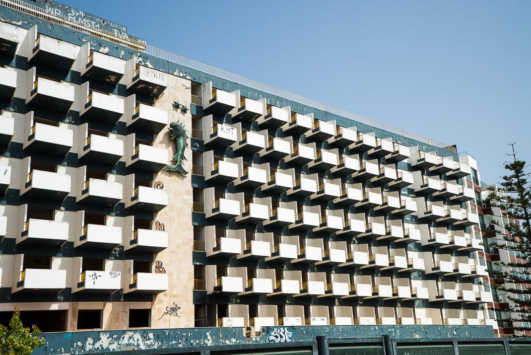 DonaAna Old Hotel Crumbling