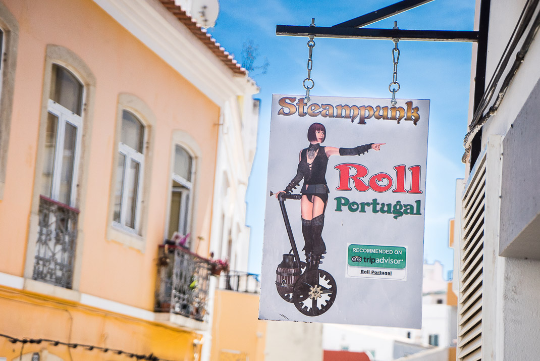 Lagos Steampunk Rollergirl Sign