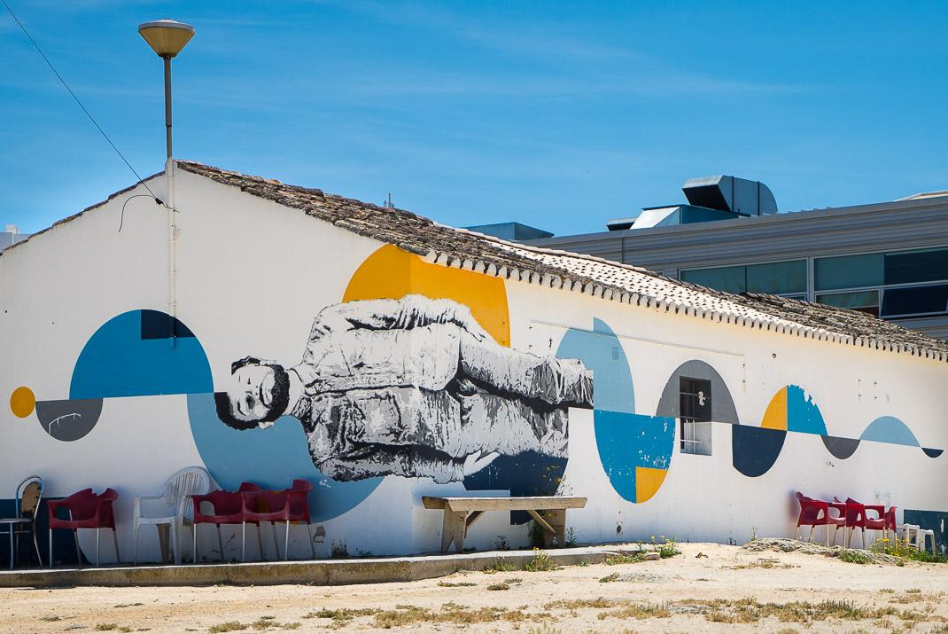 Lagos Street Art Man