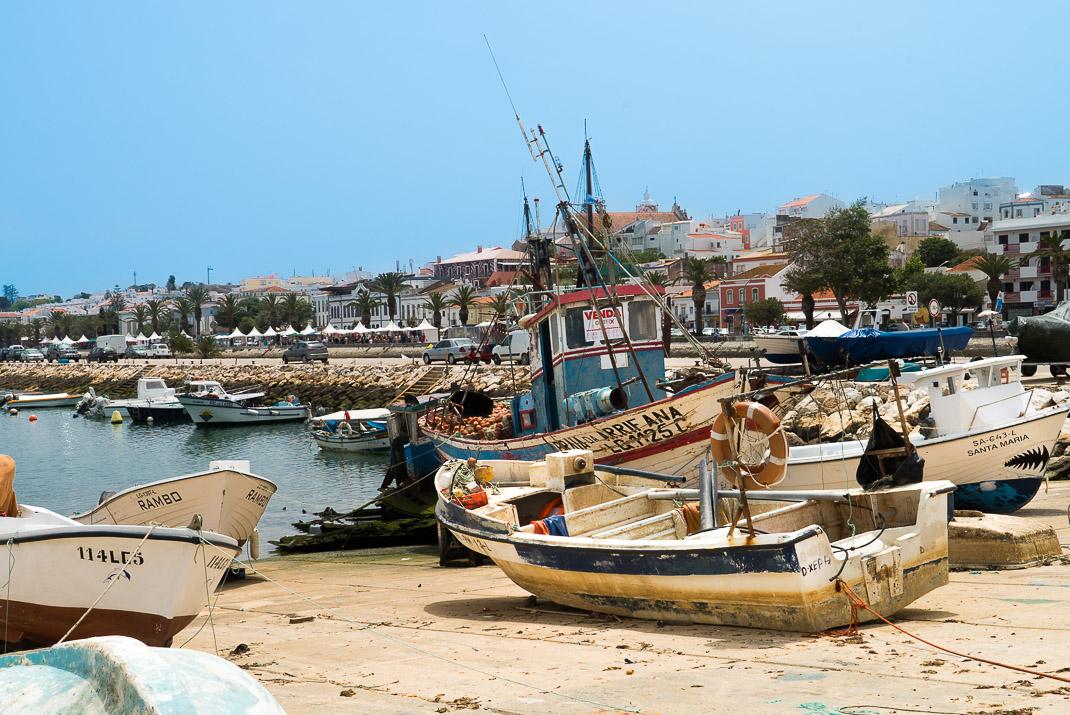 Lagos Dry Docked Boats