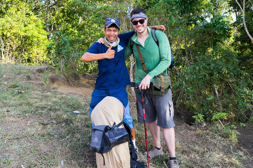 Summiting Rinjani Julian Sup