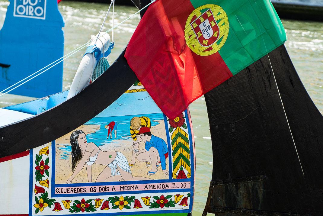 Aveiro Boat Painting Bikini