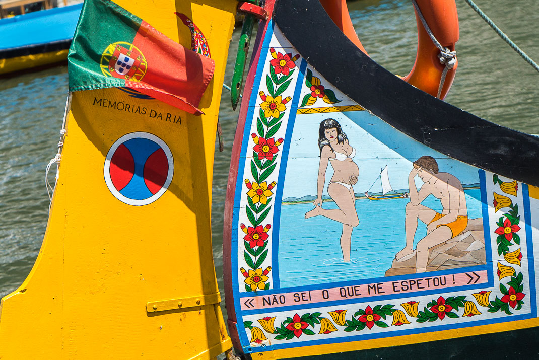Aver Boat Painting Pregnant