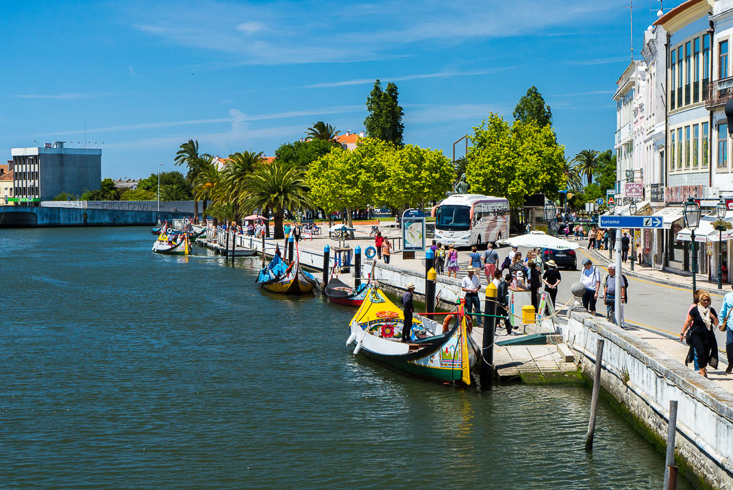 Aveiro Boat Docks Walkway