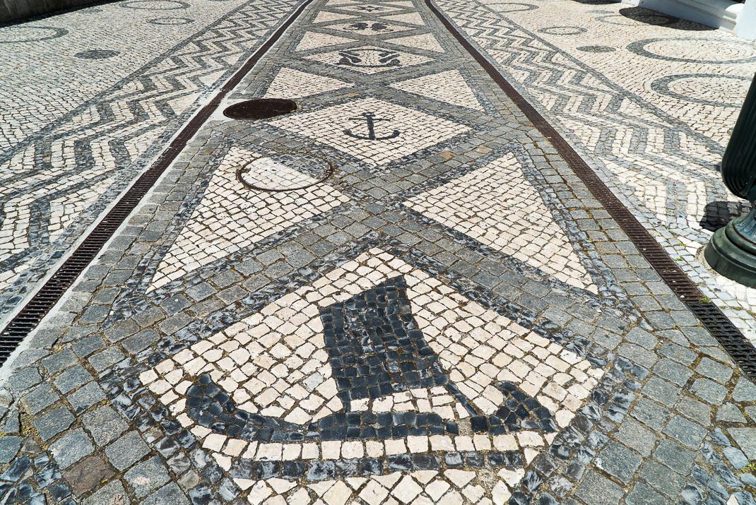 Aveiro Mosaic Sidewalk