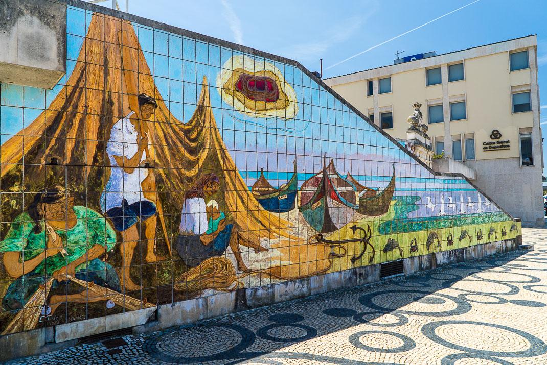 Aveiro Tile Mural History