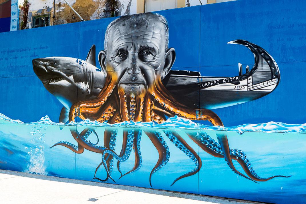 Aveiro Street Mural