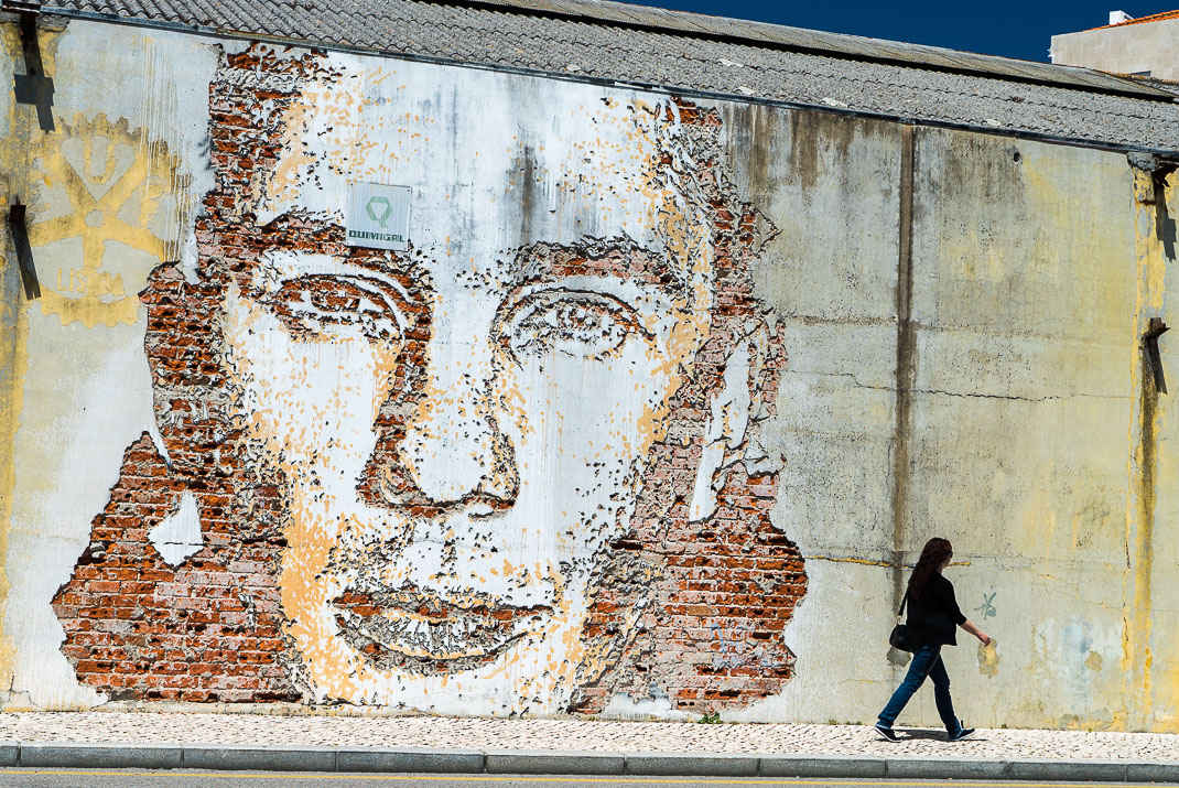 Aveiro Brick Street Art