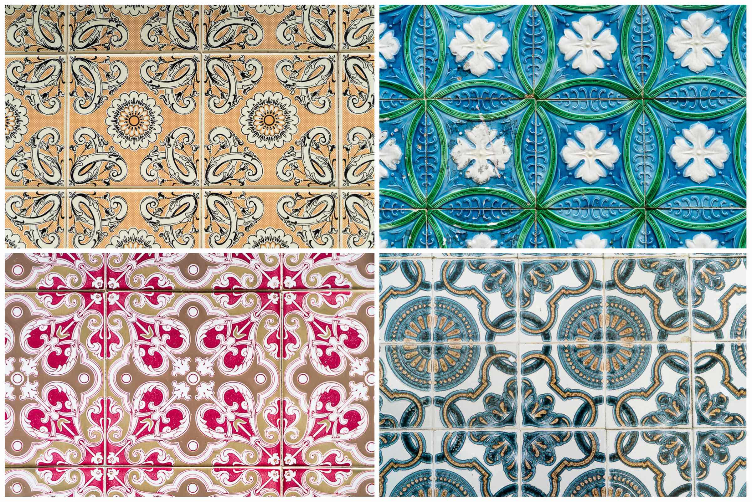 Aveiro Collage of Tiles