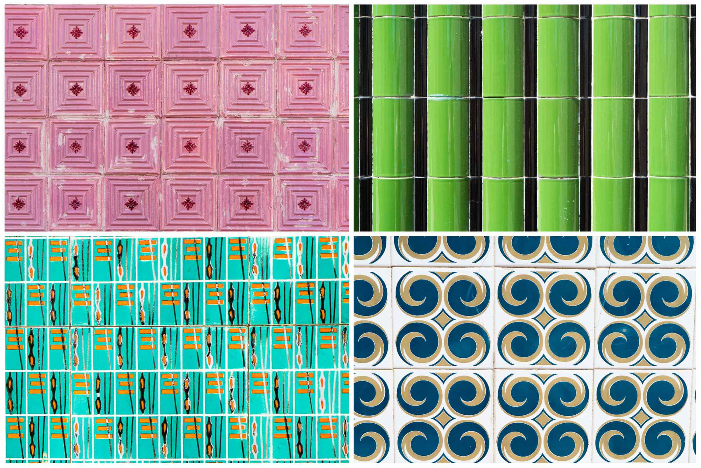 Aveiro Collage of Tiles 2