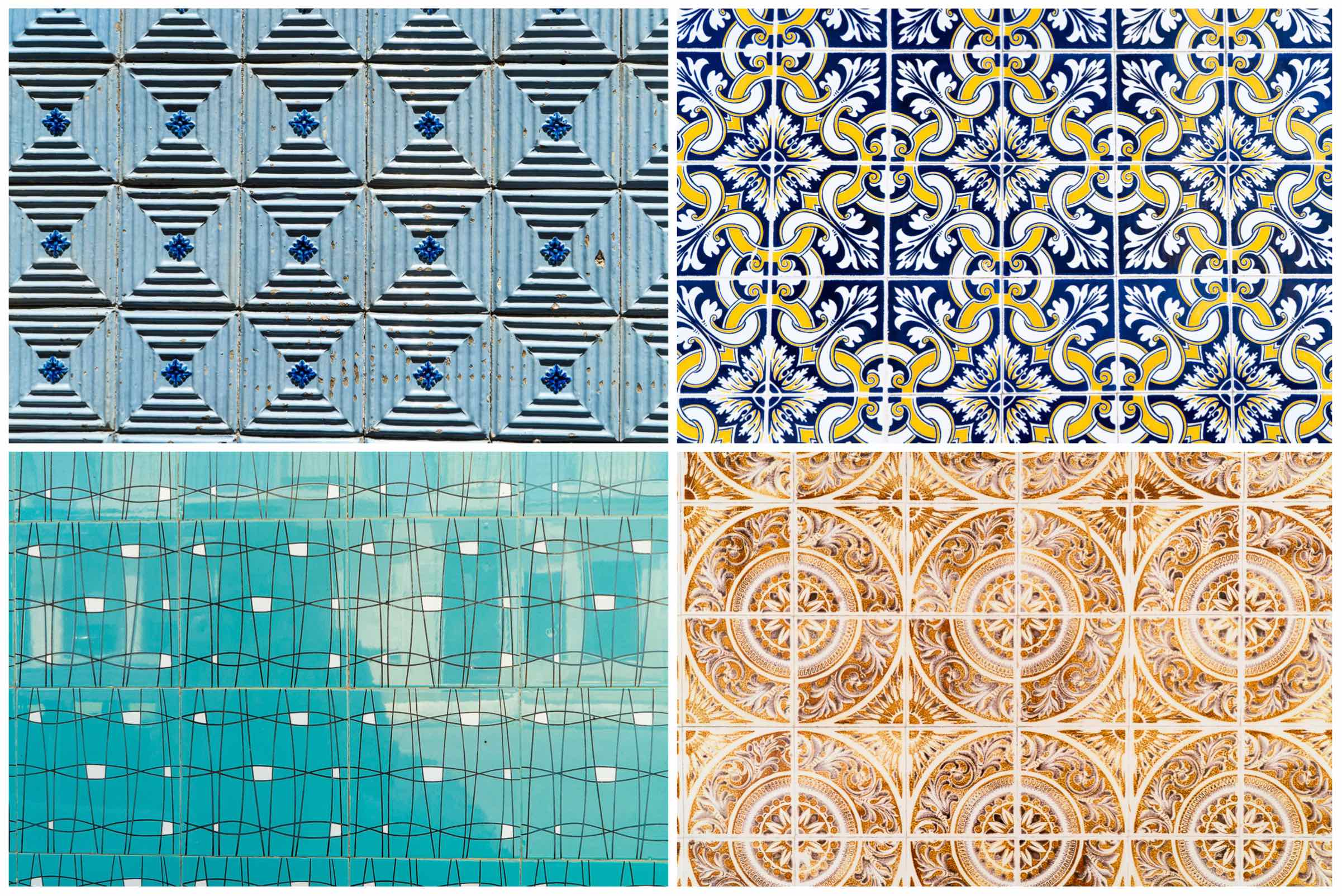 Aveiro Collage of Tiles 3