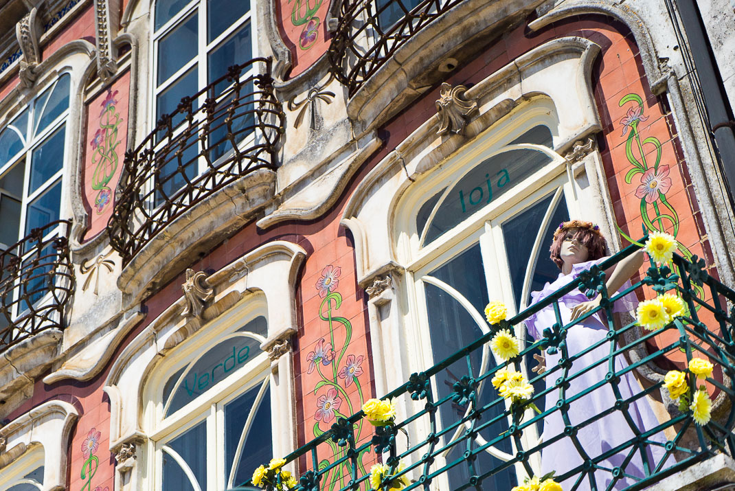 Aveiro Waterfront Building Mannequin