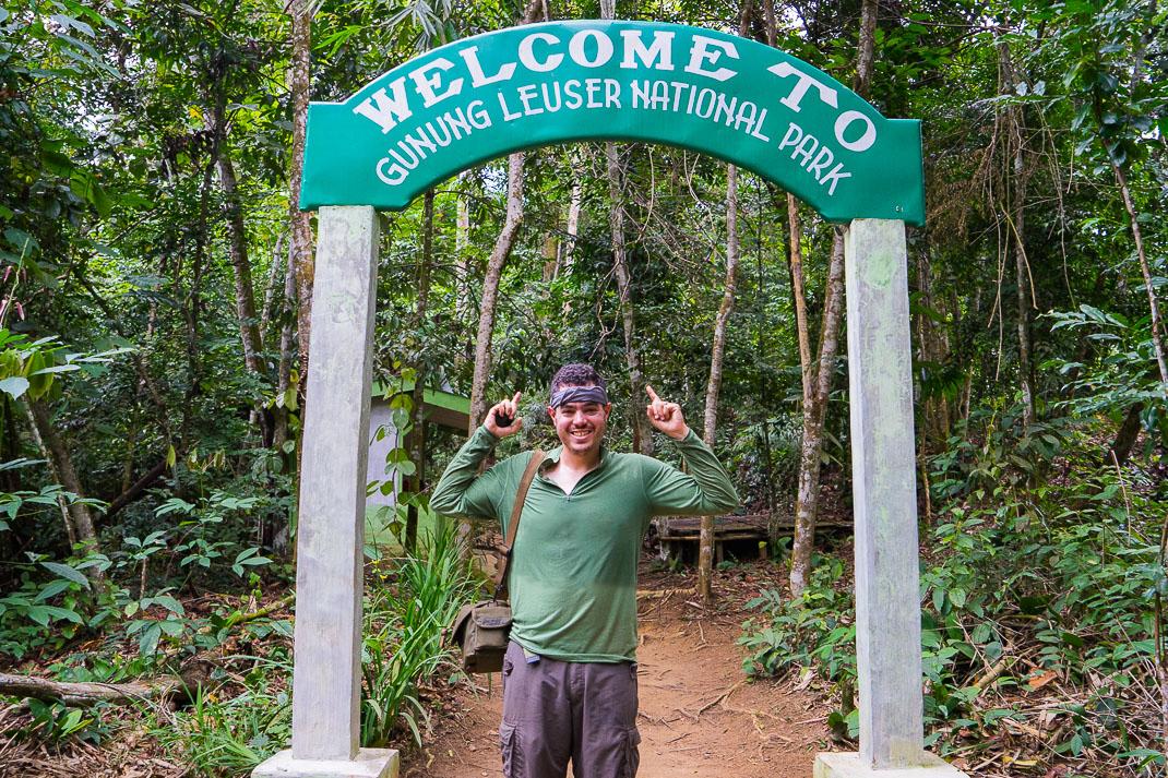 Bukit Lawang Orangutans Gunung Entrance