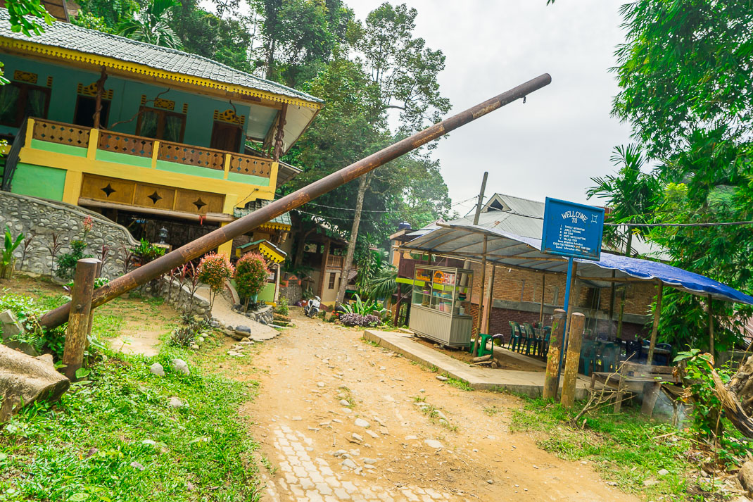 Bukit Lawang Town Entrance