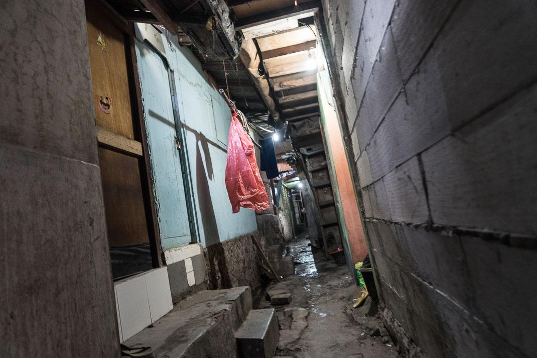 Jakarta Kampung Alleyway Door