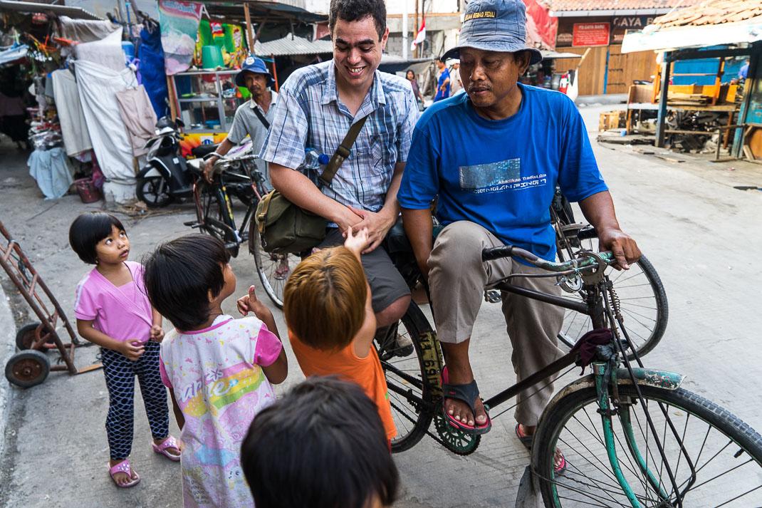 Hidden Jakarta Kampung Bike Taxi