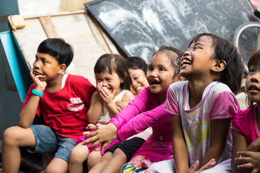 Hidden Jakarta Kids Laughing