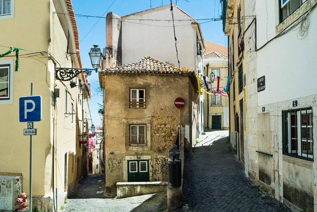 Lisbon Alleyways in Alfama