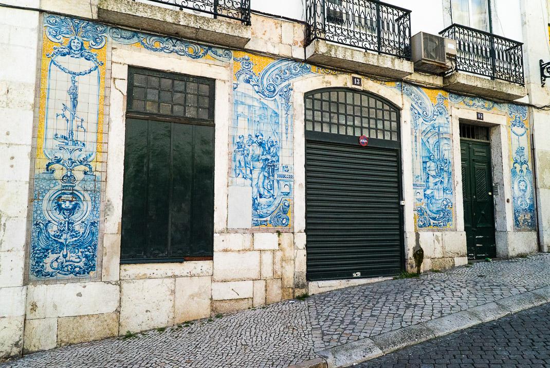 Lisbon Alfama Tile Art