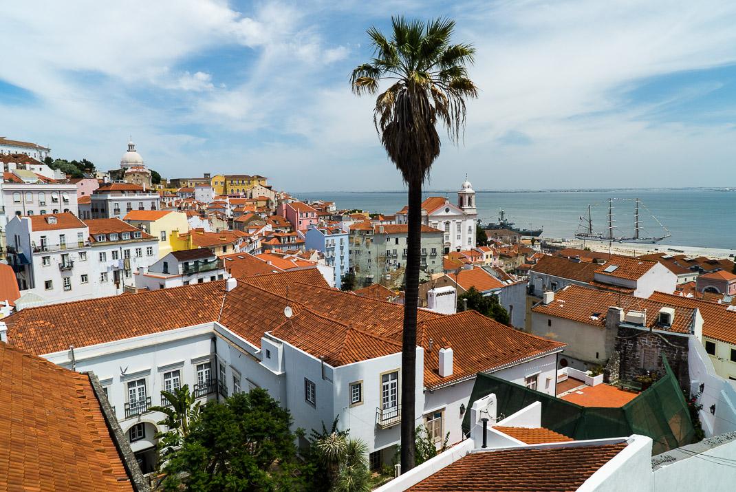 Lisbon Alfama Coastal View
