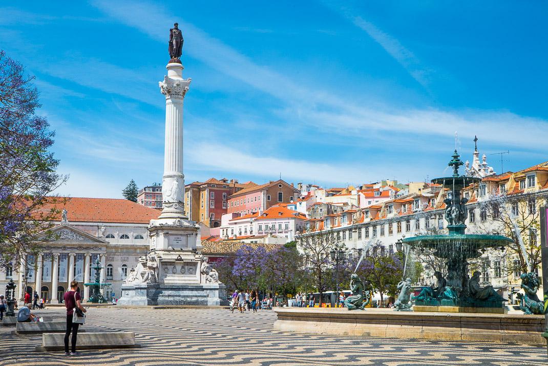 Lisbon Baxia Rossio Square