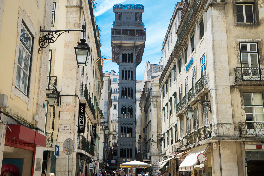 Lisbon Santa Justa Lift