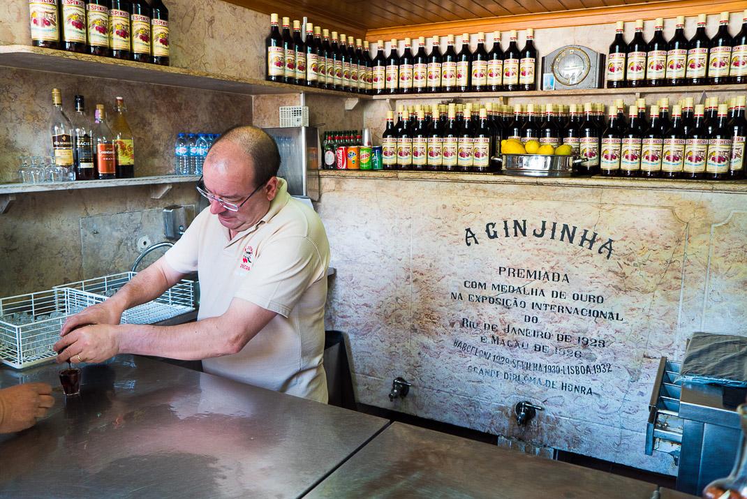 Lisbon A Ginjinha Interior