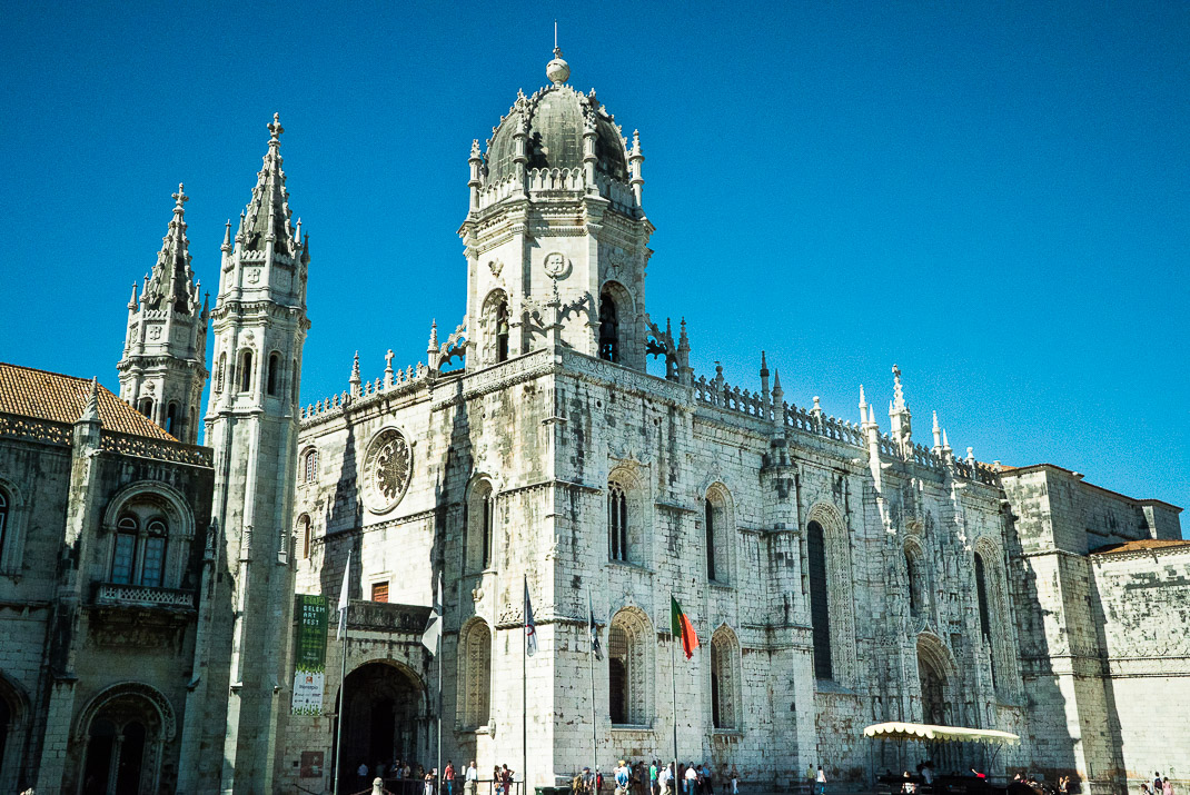 Lisbon Jeronimos Monastery Front