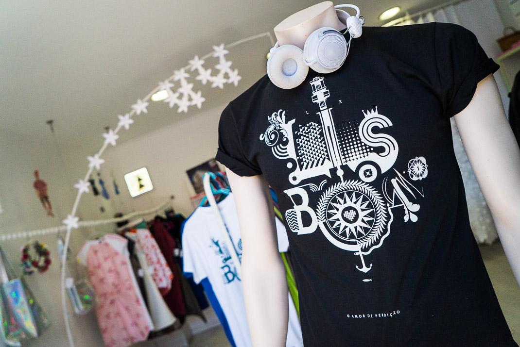 Lisbon Market T-shirt Shop