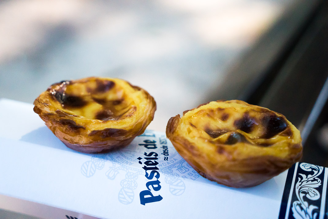 Food in Lisbon Pasteis de Belem Pastries