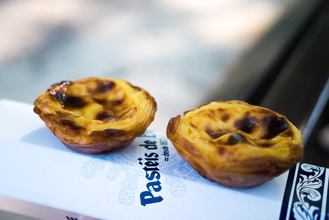 Food in Lisbon Pasteis de Belem Pastries