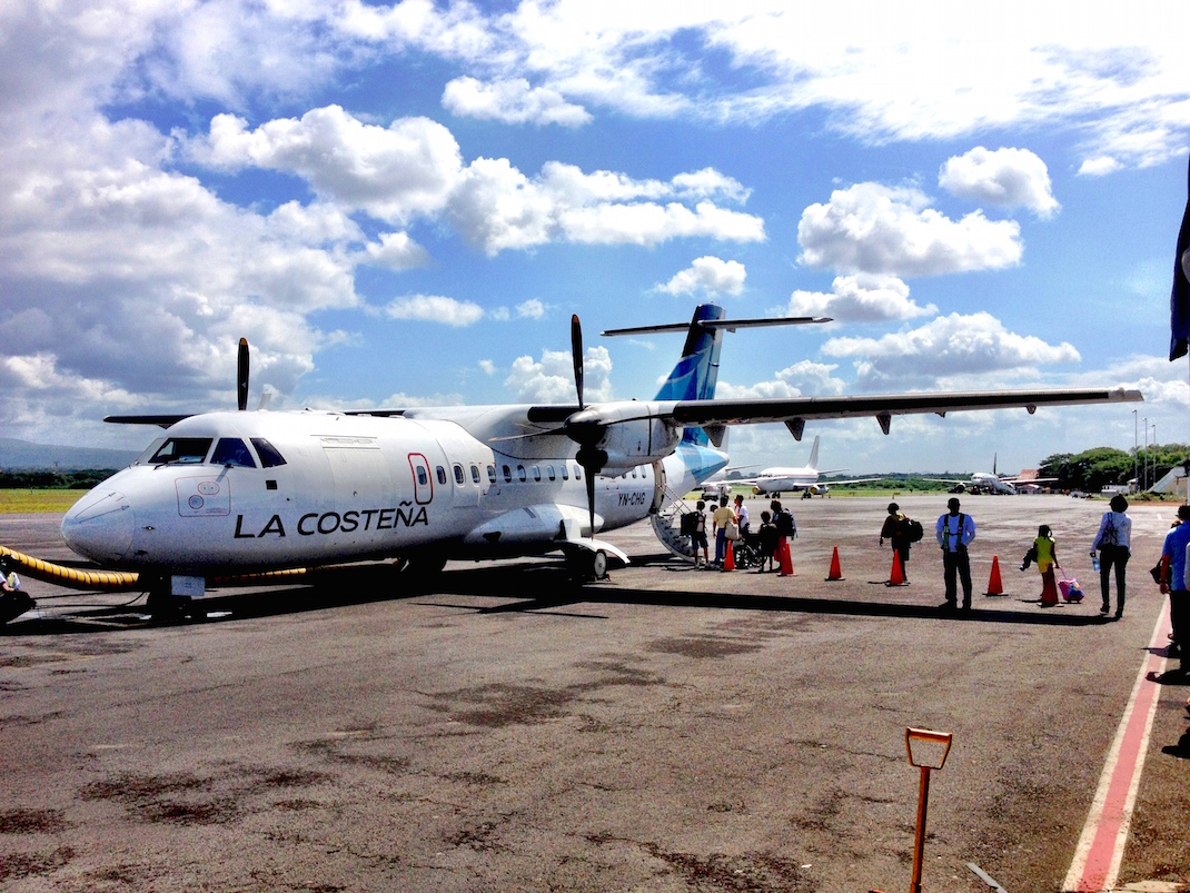 Little Corn Airplane Boarding