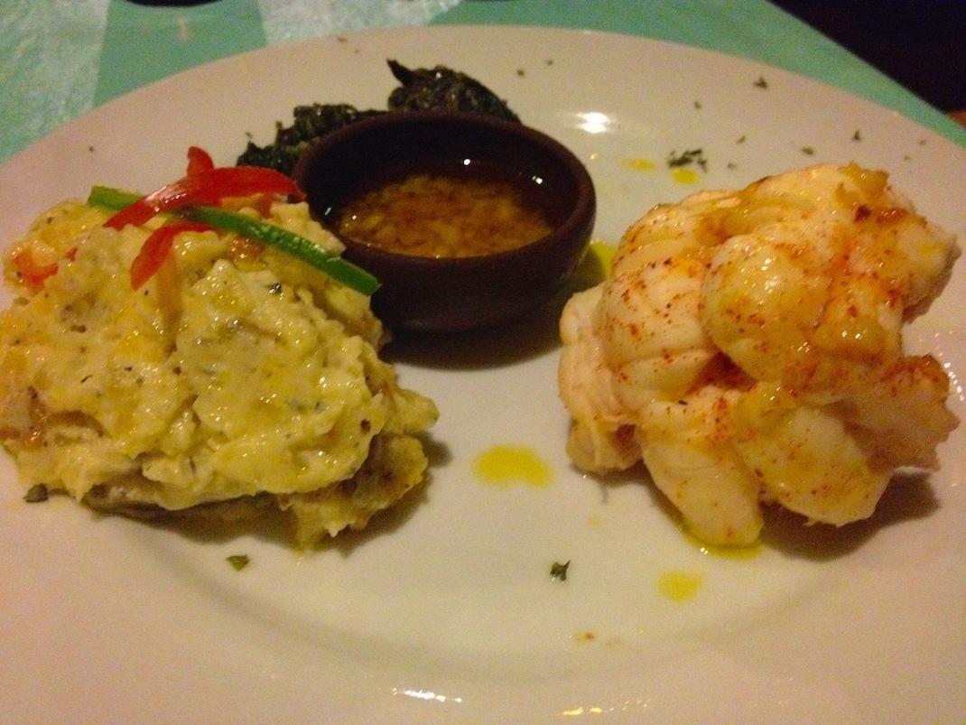 Little Corn Lobster Dinner