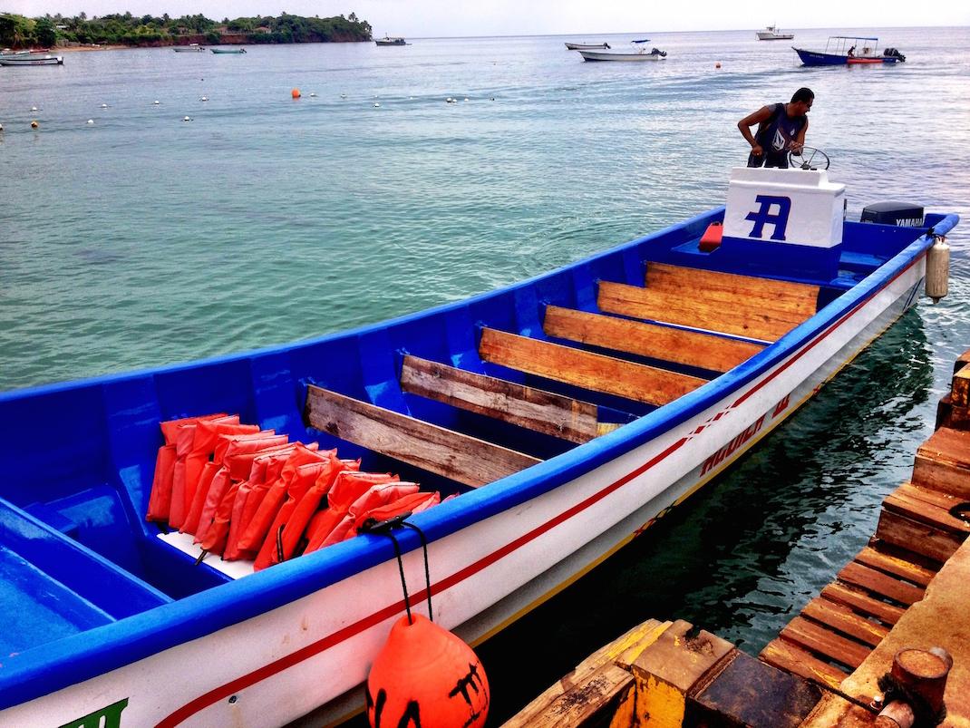 Little Corn Panga Boat