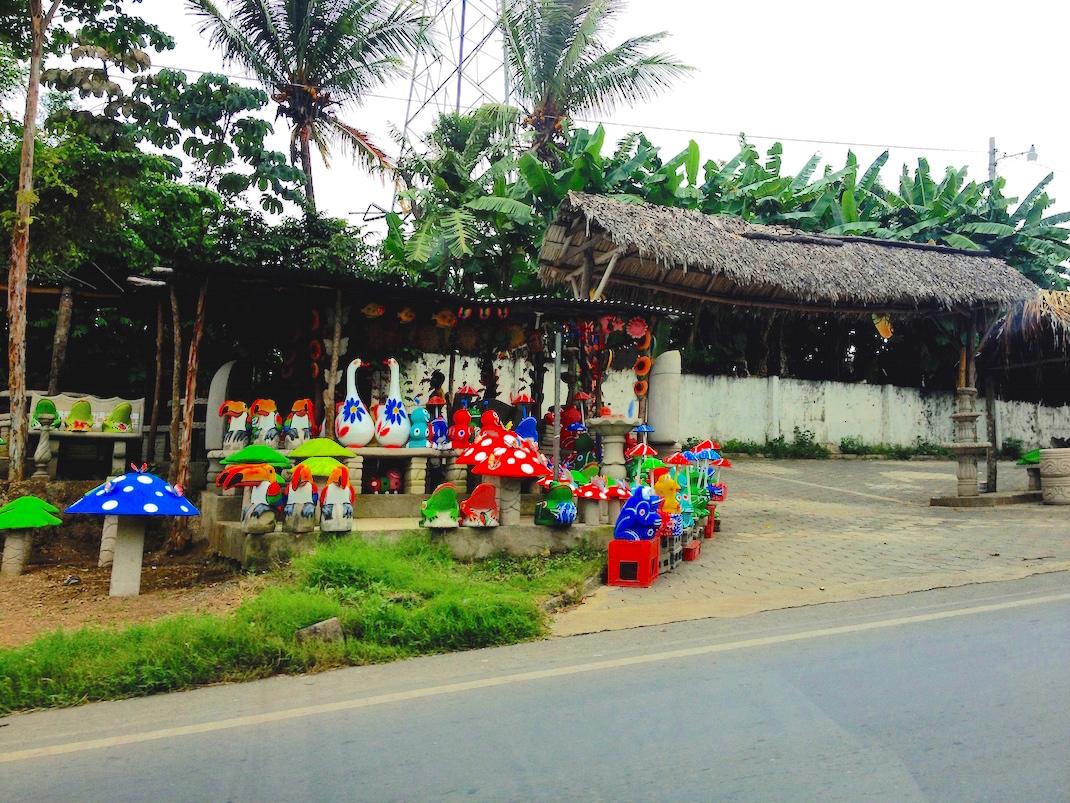 Managua Colorful Roadside Shop