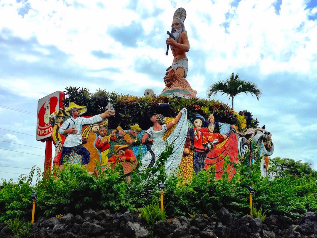 Managua Religious Statue