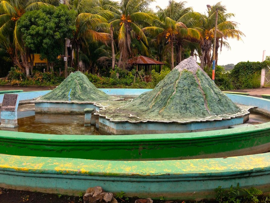 Ometepe Island Model Fountain