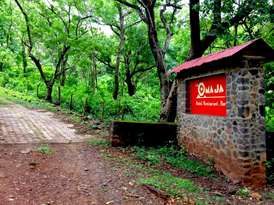 Ometepe La Omaja Entrance